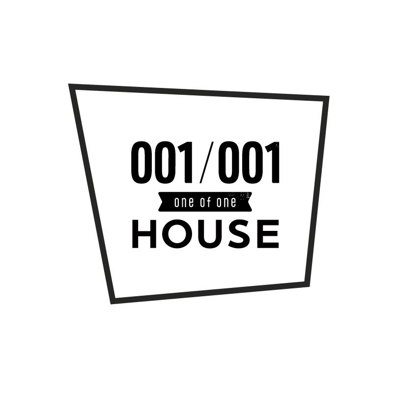 001/001 HOUSEロゴ
